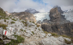 Alpi di Bernese Fotografie Stock