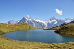Alpi di Bernese dello svizzero Fotografie Stock