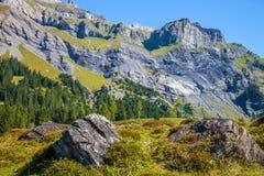 Alpi di Bernese II Immagine Stock Libera da Diritti