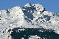 Alpi di Bernese in inverno Fotografia Stock