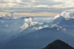 Alpi di Carnia, regione del Friuli Venezia Giulia, Italia Fotografia Stock Libera da Diritti