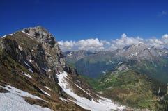 Alpi di Carnia, regione del Friuli Venezia Giulia, Italia Fotografie Stock Libere da Diritti
