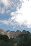 Alpi di Carnic vicino a Paularo Immagini Stock
