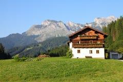 Alpi di Dachstein Immagini Stock Libere da Diritti
