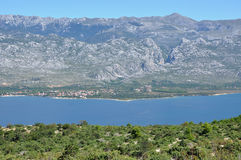 Alpi di Dinaric Fotografie Stock