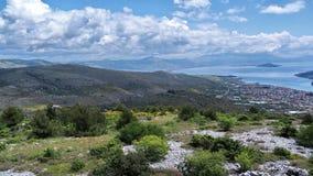 Alpi di Dinaric Fotografia Stock