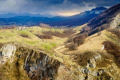 Alpi di Dinaric in Bosnia-Erzegovina Fotografia Stock Libera da Diritti