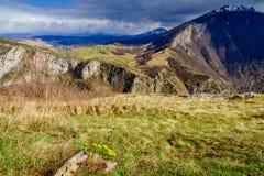 Alpi di Dinaric in Bosnia-Erzegovina Immagine Stock Libera da Diritti