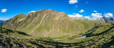Alpi di estate Fotografia Stock Libera da Diritti