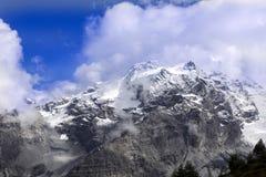 Alpi di estate ad un'altitudine di 2125, Italia Immagini Stock Libere da Diritti