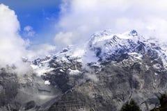 Alpi di estate ad un'altitudine di 2125, Italia Fotografia Stock Libera da Diritti