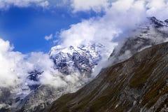 Alpi di estate ad un'altitudine di 2341, Italia Fotografia Stock Libera da Diritti