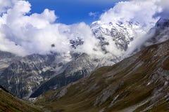 Alpi di estate ad un'altitudine di 2341, Italia Fotografie Stock Libere da Diritti