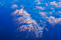 Alpi di europa Fotografia Stock