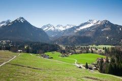Alpi di Garmisch Partenkirchen Fotografia Stock Libera da Diritti