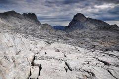 Alpi di Gebirge dei Totes delle montagne Fotografie Stock Libere da Diritti