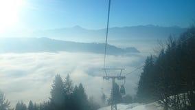 Alpi di Gerlitzen Austria fotografia stock