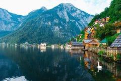 Alpi di Hallstat Austria Immagini Stock Libere da Diritti