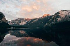 Alpi di Hallstatt Fotografia Stock Libera da Diritti