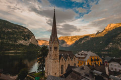 Alpi di Hallstatt Immagini Stock