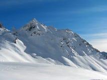 Alpi di inverno Immagini Stock