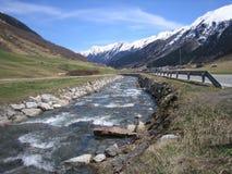 Alpi di inverno Immagine Stock Libera da Diritti