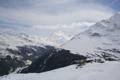 Alpi di Italien in inverno Fotografia Stock