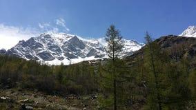 Alpi di Itlain Immagini Stock Libere da Diritti