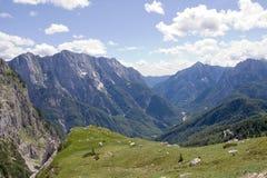 Alpi di Julian Fotografie Stock Libere da Diritti