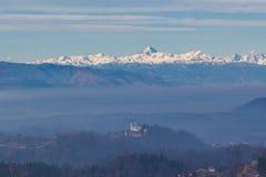 Alpi di Julian Immagine Stock Libera da Diritti