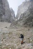 Alpi di Julian - ascesa nello sciame Fotografia Stock Libera da Diritti