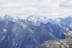 Alpi di Julian in estate Immagine Stock