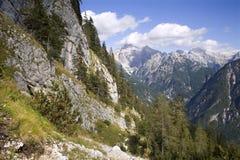 Alpi di Julian - paesaggio Fotografia Stock Libera da Diritti