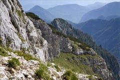 Alpi di Julian - paesaggio Fotografie Stock Libere da Diritti