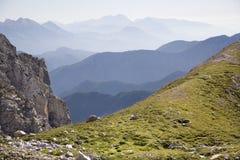 Alpi di Julian - paesaggio Fotografie Stock