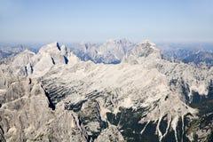 Alpi di Julian - prospettiva Fotografia Stock Libera da Diritti