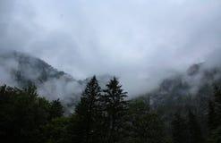 Alpi di Julian in Slovenia Fotografia Stock Libera da Diritti