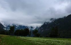 Alpi di Julian in Slovenia Fotografie Stock