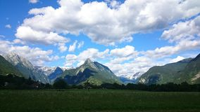 Alpi di Julian, Slovenia Immagini Stock