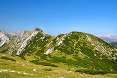 Alpi di Julian, Slovenia Fotografie Stock Libere da Diritti