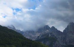 Alpi di Julian in Slovenia Immagini Stock Libere da Diritti