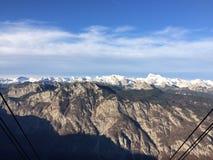 Alpi di Julien Immagini Stock Libere da Diritti