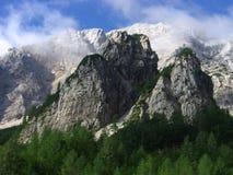 Alpi di Kamnik Fotografia Stock Libera da Diritti
