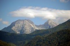 Alpi di Kamnik - Kocna e Grintovec Immagini Stock Libere da Diritti