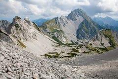 Alpi di Kamnik-savinja - picco di Vrtaca Fotografia Stock
