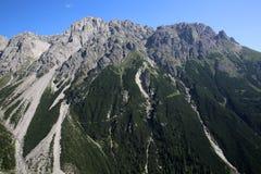 Alpi di Lechtal Immagini Stock Libere da Diritti