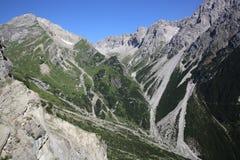 Alpi di Lechtal Fotografie Stock