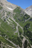 Alpi di Lechtal Immagine Stock