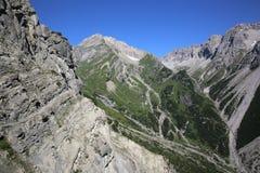 Alpi di Lechtal Immagini Stock