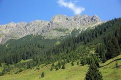 Alpi di Lechtal Immagine Stock Libera da Diritti